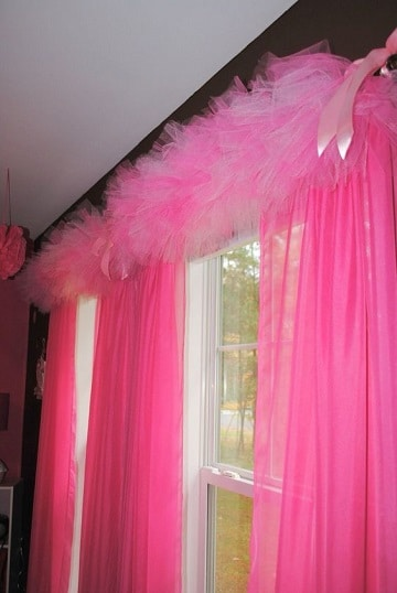 cortinas para dormitorio de niña tutu