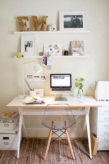 Dise os e imagenes para cuartos de estudio modernos como for Como decorar una habitacion de estudio