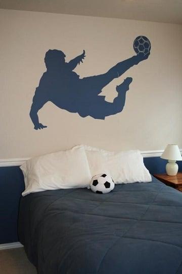 cuartos decorados de futbol ideas