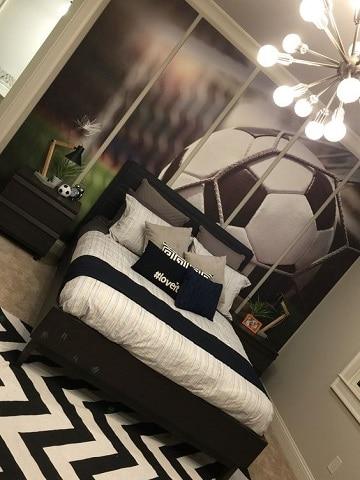 cuartos decorados de futbol para adultos