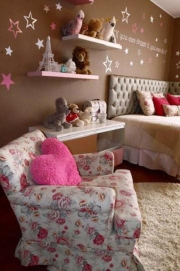 cuartos para niña de 12 años vintage