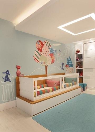 dibujos para cuartos de bebes diseños