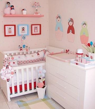 dibujos para cuartos de bebes niñas
