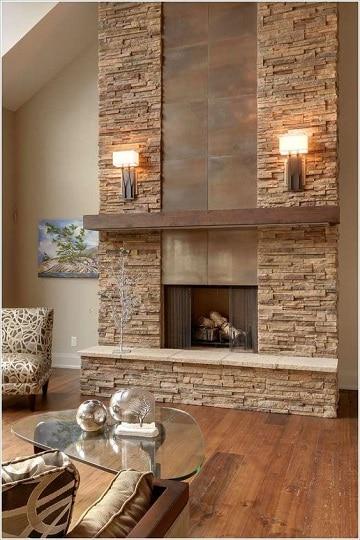chimeneas para casas ideas