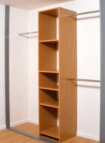 Algunos dise os de closet peque os para ahorrar espacio for Closet para espacios pequenos