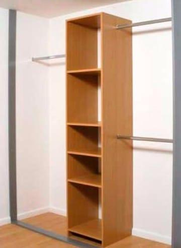 Algunos dise os de closet peque os para ahorrar espacio for Disenos de closets sencillos