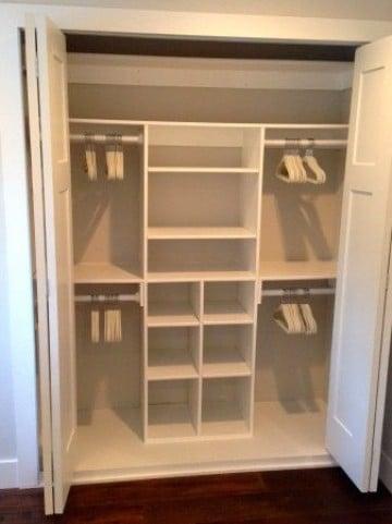 diseños de closet pequeños y funcionales
