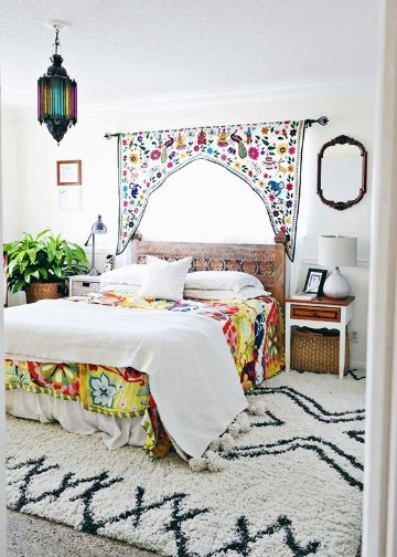 dormitorios boho chic ideas