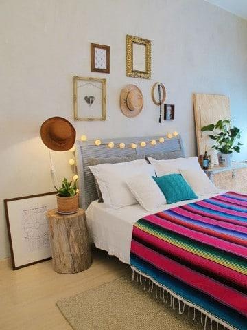 dormitorios boho chic originales