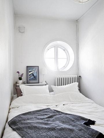 dormitorios pequeños para adultos para parejas