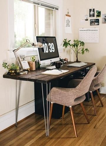 escritorios para habitaciones pequeñas modernos
