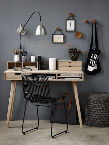 escritorios para habitaciones pequeñas originales