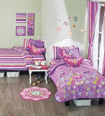 habitaciones infantiles dobles niñas pequeñas