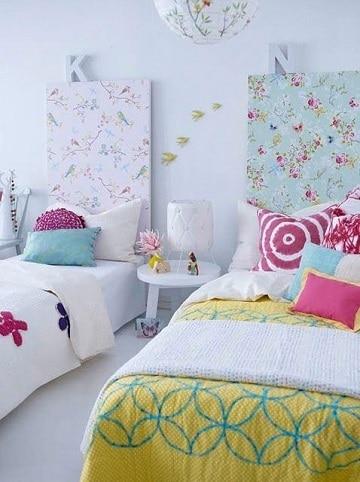 habitaciones para dos niñas diseños