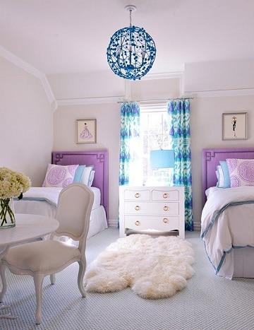 habitaciones para dos niñas pequeñas