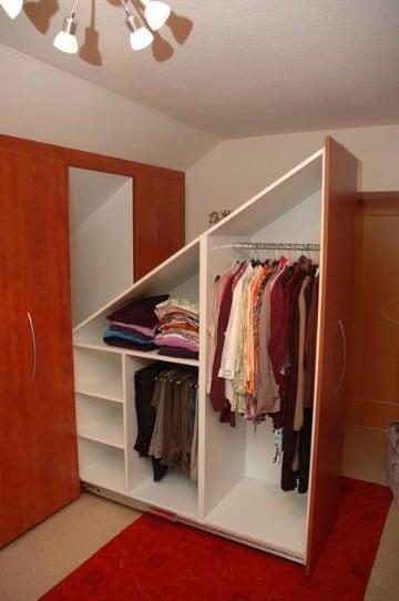 ideas para closets pequeños funcionales