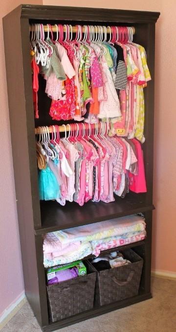 ideas para closets pequeños para niños