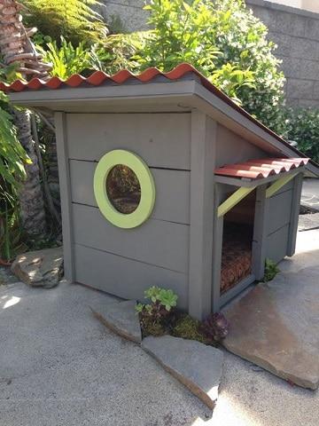 imagenes de casas de perros facil