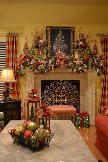 imagenes de chimeneas navideñas ideas