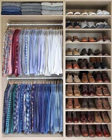 imagenes de closet para habitaciones para hombre