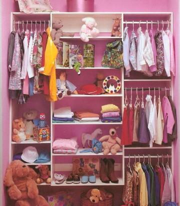 imagenes de closet para habitaciones para niña