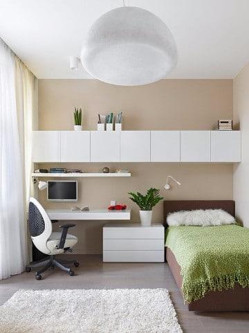 Decoracion original y modelos de dormitorios peque os for Dormitorios pequenos juveniles