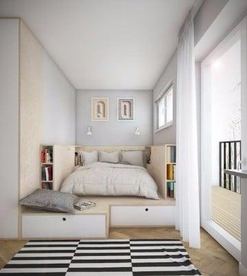 modelos de dormitorios pequeños para parejas