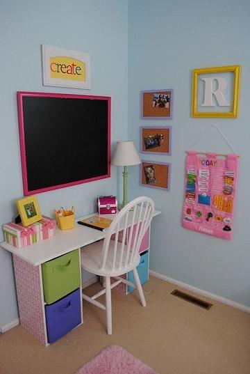 Estudios decorados y modelos de escritorios para ni os for Escritorios de ninos