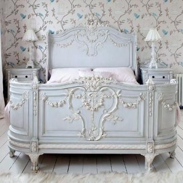 muebles blancos vintage para recamaras