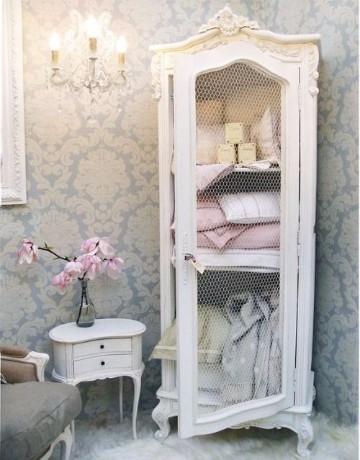 muebles blancos vintage restaurados