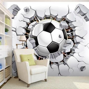 murales 3d en paredes habitacion