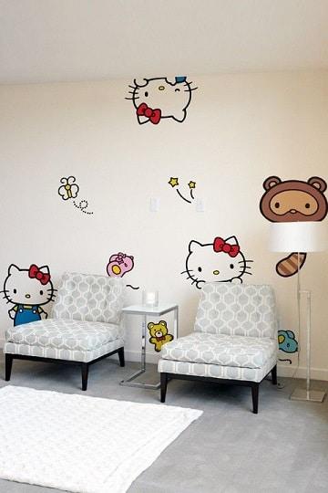 murales para paredes de salas de espera para niños