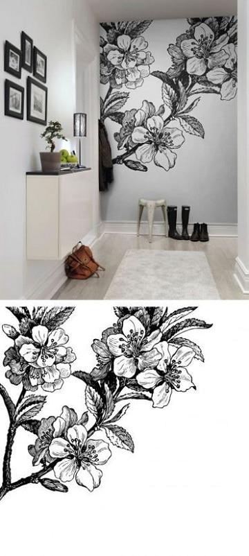 Paredes con dibujos decorar paredes con dibujos como en for Paredes pintadas originales