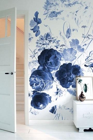 paredes pintadas con dibujos flores