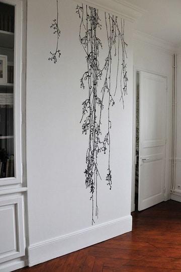 Ideas decorativas de paredes pintadas con dibujos como - Dibujos para pintar paredes ...