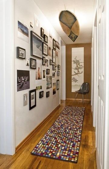 Colores y texturas de alfombras para pasillos largos - Alfombras para pasillos modernas ...