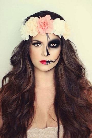 caras pintadas para halloween ideas