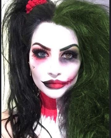 Maquillaje original y caras pintadas para halloween como for Caras pintadas para halloween