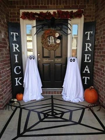 casas decoradas de halloween clasicas