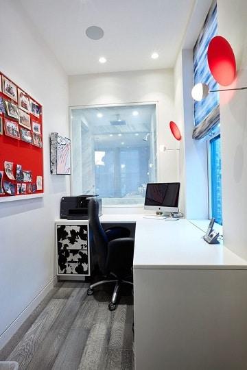 colores para oficinas pequeñas tranquilas