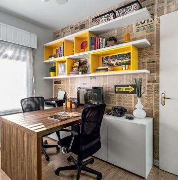 colores para oficinas pequeñas vintage