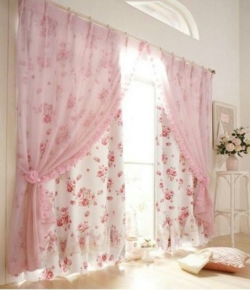 cortinas para recamara de niña grandes
