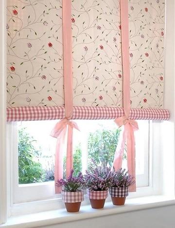 cortinas para recamara de niña plegables