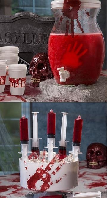 cosas de halloween para una fiesta bebida