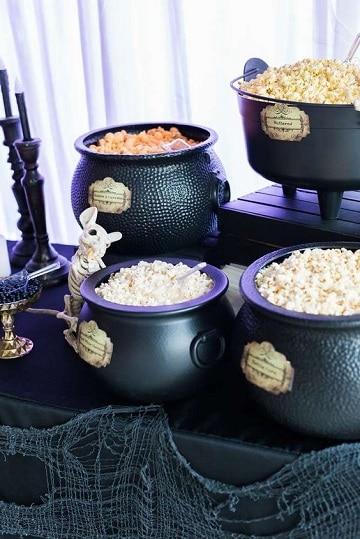 cosas de halloween para una fiesta comida