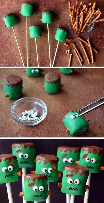 cosas de halloween para una fiesta dulces
