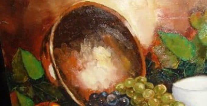 pinturas al oleo de frutas grandes | Como decorar mi cuarto