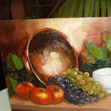 Decoracion con tradicionales cuadros de frutas para comedor | Como ...