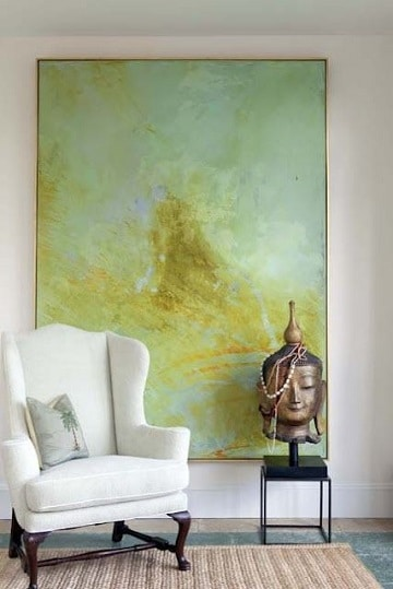 cuadros grandes para sala simples