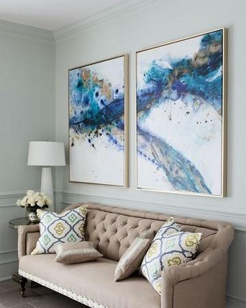 cuadros para sala minimalista abstracto